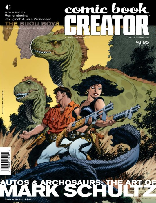 Comic Book Creator #15 - Mark Schultz