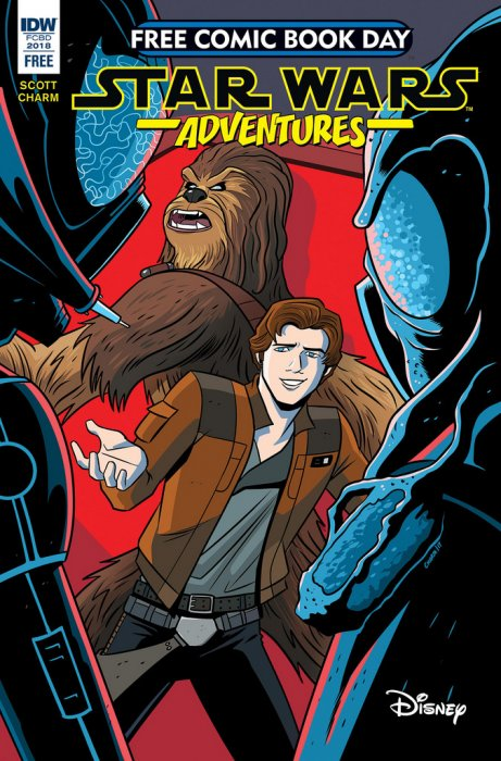Star Wars Adventures FCBD 2018 #1