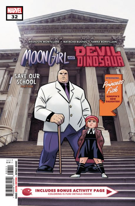 Moon Girl and Devil Dinosaur #32