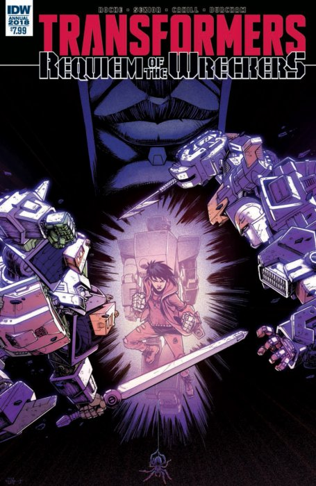 Transformers - Requiem of the Wreckers Annual #1
