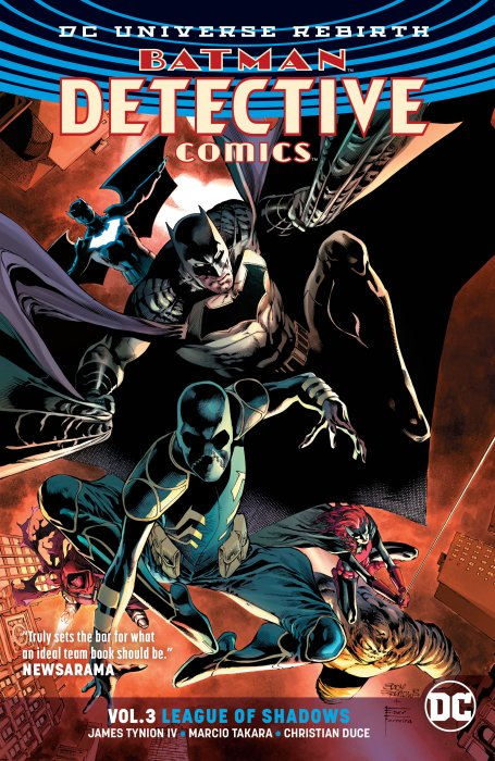 Batman - Detective Comics Vol.3 - League of Shadows