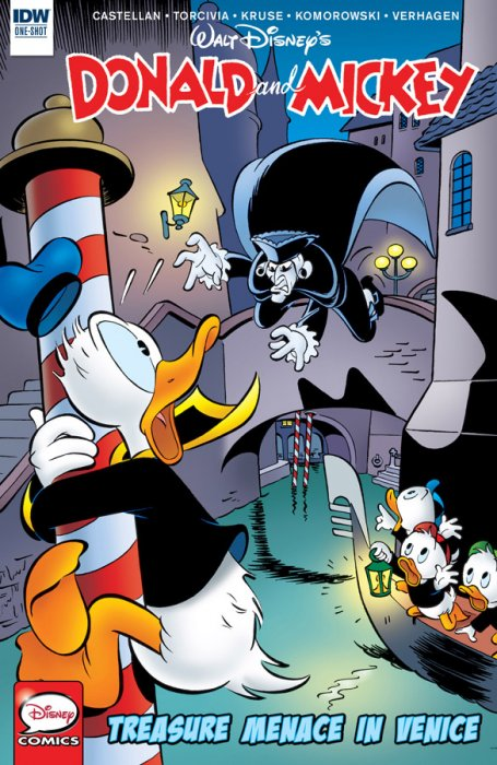 Donald and Mickey #3 - Treasure Menace in Venic