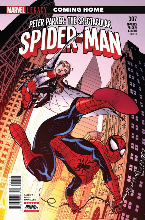 Peter Parker - The Spectacular Spider-Man #307