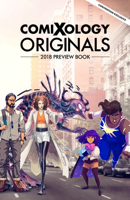 ComiXology Originals 2018 Preview Book #1