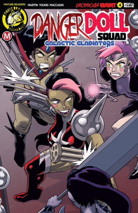 Danger Doll Squad - Galactic Gladiators #4