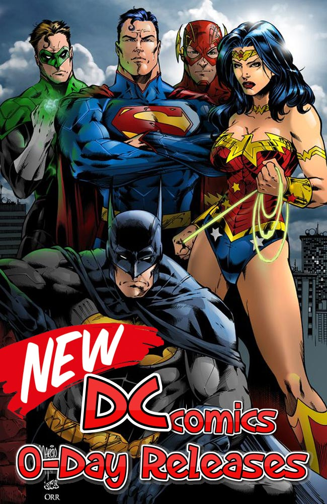 DC comics week 01.08.2018, week 31)