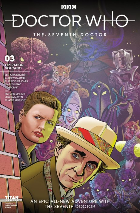 Doctor Who - The Seventh Doctor Operation Volcano #3