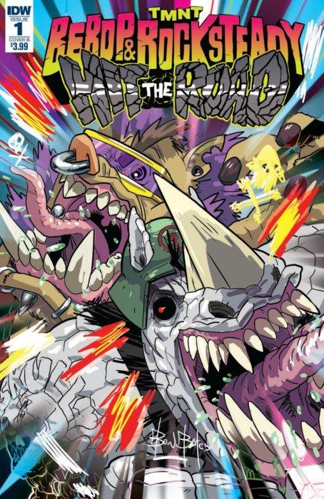 Teenage Mutant Ninja Turtles - Bebop & Rocksteady Hit the Road! #1