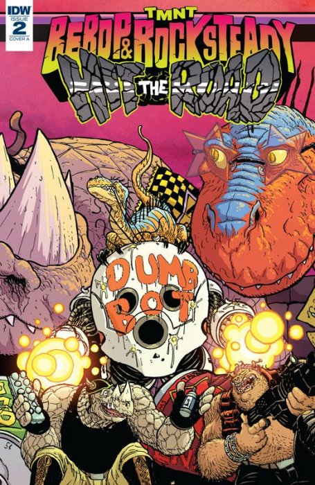 Teenage Mutant Ninja Turtles - Bebop & Rocksteady Hit the Road! #2