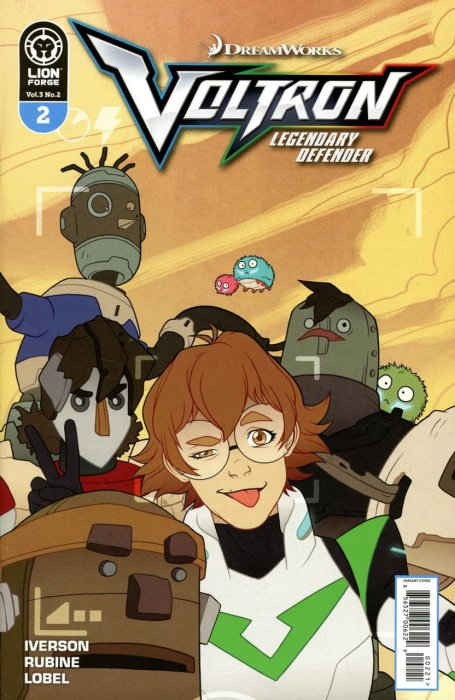 Voltron - Legendary Defender Vol.3 #2