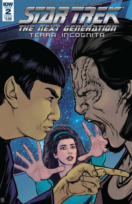 Star Trek - Tahe Next Generation - Terra Incognita #2