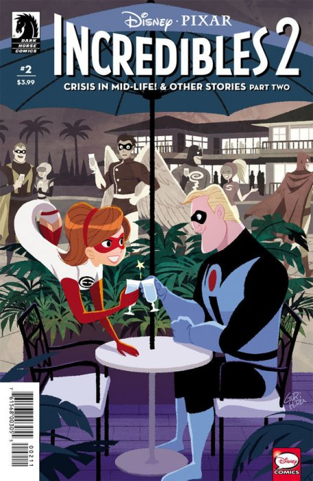 Incredibles 2 - Crisis in Mid-Life! & Other Stories #2