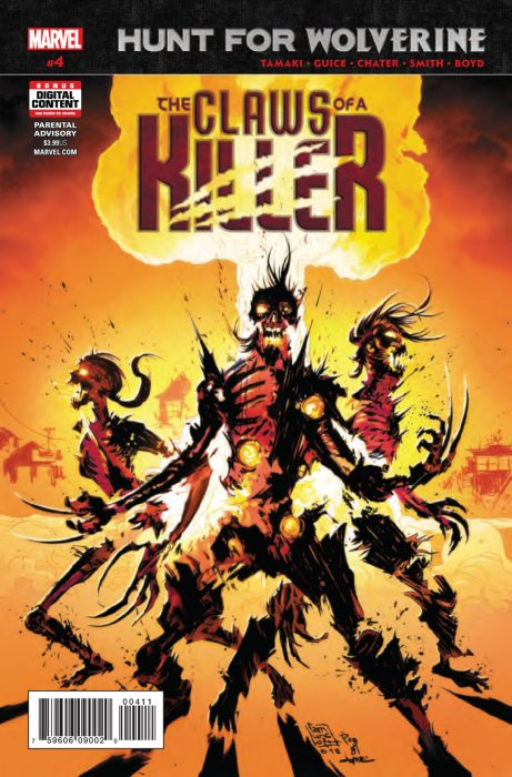 Hunt for Wolverine - The Claws of a Killer #4