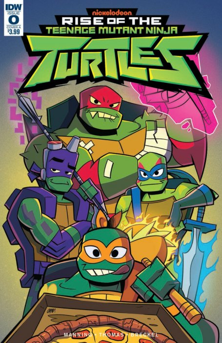 Rise of the Teenage Mutant Ninja Turtles #0