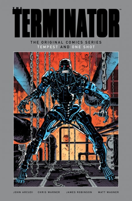 The Terminator - The Original Comics Series - Tempest and One-Shot #1 - HC