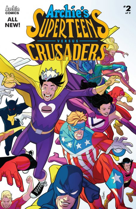 Archie's Superteens versus Crusaders #2