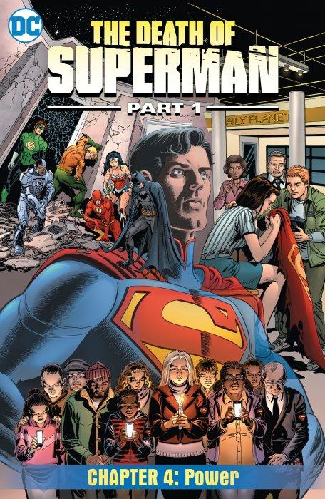 Death of Superman #4