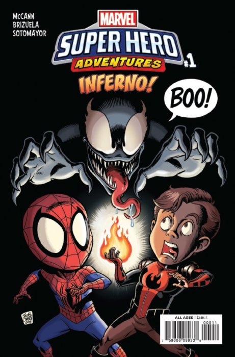 Marvel Super Hero Adventures - Inferno #1