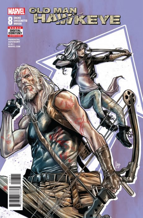 Old Man Hawkeye #8