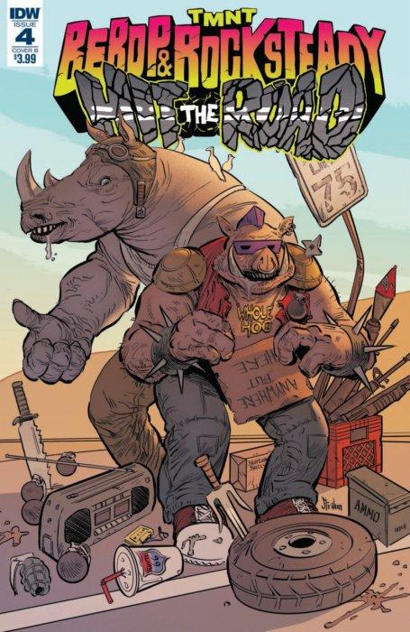 Teenage Mutant Ninja Turtles - Bebop & Rocksteady Hit the Road! #4