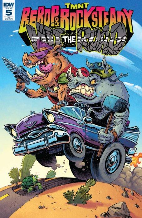 Teenage Mutant Ninja Turtles - Bebop & Rocksteady Hit the Road! #5
