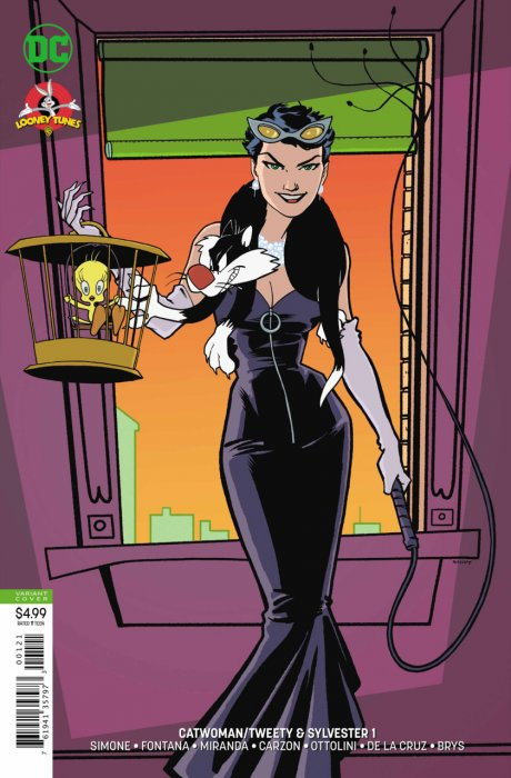 Catwoman - Tweety and Sylvester #1