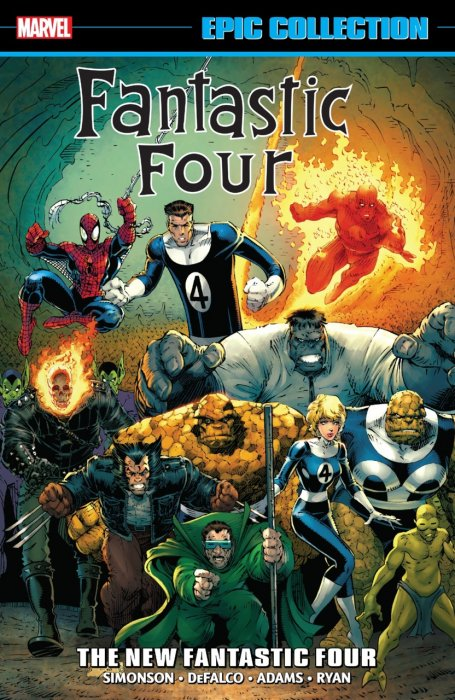 Fantastic Four Epic Collection - The New Fantastic Four #1 - TPB
