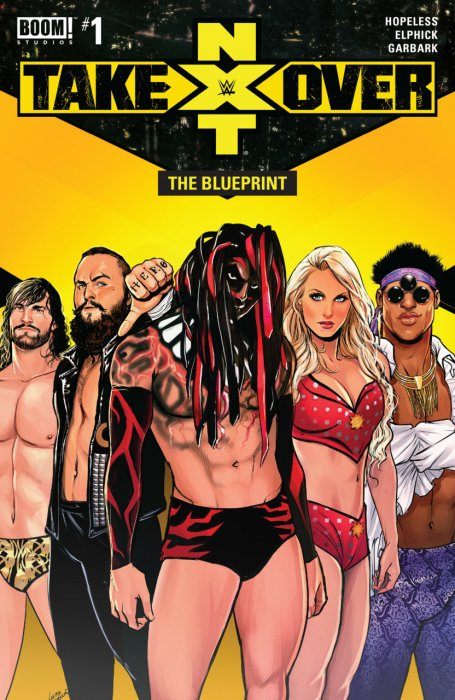 WWE - NXT Takeover - The Blueprint #1