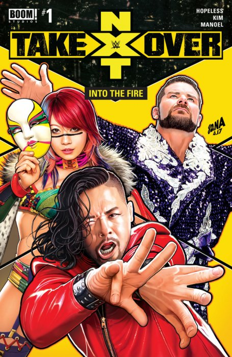 WWE - NXT Takeover - Into the Fire #1