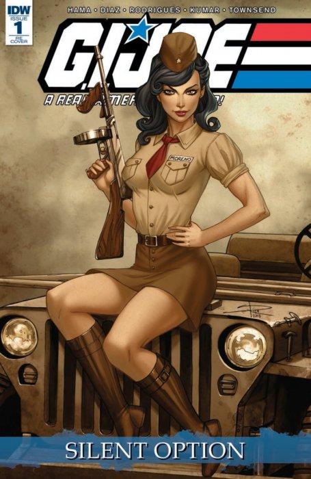 G.I. Joe - A Real American Hero - Silent Option #1