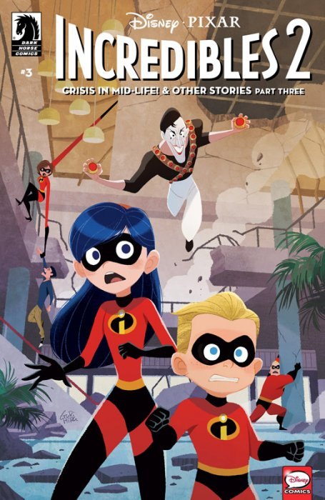 Incredibles 2 - Crisis in Mid-Life! & Other Stories #3