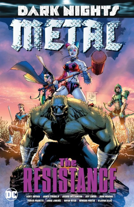 Dark Nights - Metal - The Resistance #1 - TPB