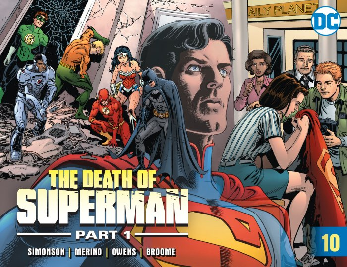 Death of Superman #10
