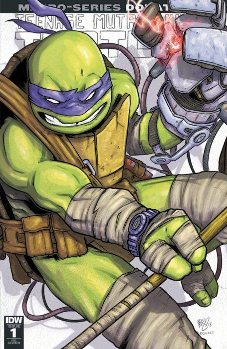 Teenage Mutant Ninja Turtles - Macro-Series #1