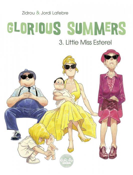 Glorious Summers #3 - Little Miss Esterel