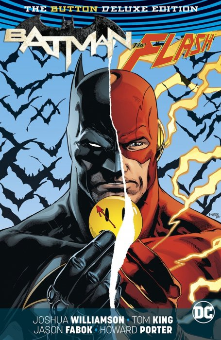Batman - The Flash - The Button-Deluxe Edition #1 - HC